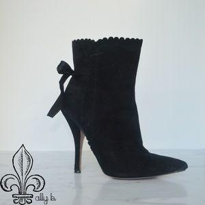🖤Black Velvet boots 🖤